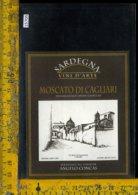 Etichetta Vino Liquore Moscato Di Cagliari - Etichette