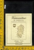 Etichetta Vino Liquore Vermentino Di Sardegna-Meloni - Etichette