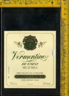 Etichetta Vino Liquore Vermentino Di Usini G. Cherchi-Sassari - Etichette