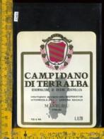 Etichetta Vino Liquore Campidano Di Terralba - Marrubiu-Sardegna - Etichette