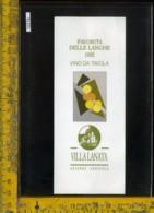 Etichetta Vino Liquore Favorita Delle Langhe 1992-Villa Lanata - Etichette