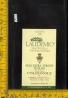 Etichetta Olio Extra Vergine Di Oliva Laudemio 1995-Colognole-Rufina - Etichette