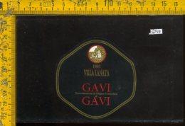 Etichetta Vino Liquore Gavi 1993-Villa Lanata - Etichette