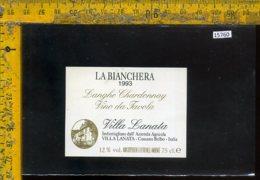 Etichetta Vino Liquore Langhe Chardonnay La Bianchera 1993-Cossano Belbo - Etichette
