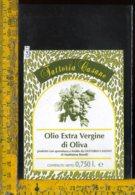 Etichetta Olio Extra Vergine Di Oliva- Fattoria Casano - Etichette