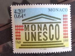 MONACO 1999 Y&T N° 2213 ** - 50e ANNIV. DE L'ADHESION DE MONACO A L' UNESCO - Neufs