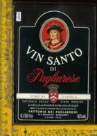 Etichetta Vino Liquore Vin Santo Di Pagliarese - S. Gusmè SI - Etichette