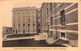 Salzinnes - Ecole D'Infirmières Ste Elisabeth, Place Louise Godin - Namen
