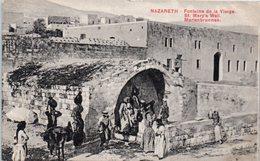 ASIE - ISRAEL -- Nazareth - Fontaine De La Vierge - Israel