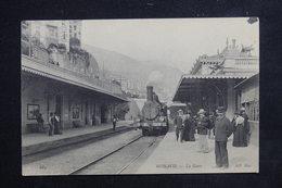 MONACO - Carte Postale - Monté Carlo -  La Gare  ( Train Beau Plan ) - L 23103 - Monaco
