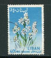 LIBAN- P.A Y&T N°299- Oblitéré (fleurs) - Végétaux