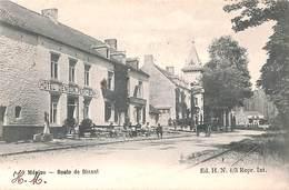Wépion - Route De Dinant (Ed. H N, Animée Hôtel Denison, 1904) - Namen