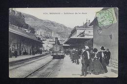 MONACO - Carte Postale - Monté Carlo -  Intérieur De La Gare  ( Train Beau Plan ) - L 23104 - Monaco