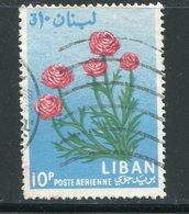 LIBAN- P.A Y&T N°297- Oblitéré (fleurs) - Végétaux
