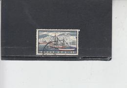 GRECIA  1958 - A  72 - Porto - Nave - Posta Aerea