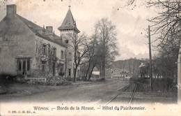 Wépion - Bords De La Meuse - Hôtel Du Pairibonnier (G H Edit., Feldpost 1914) - Namen