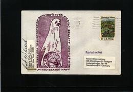 USA 1970 Arctic Sealift Operations USNS Redbud Signed - Polare Shiffe & Eisbrecher