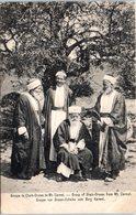 ASIE - ISRAEL -- Groupe De Cheik Druses De Mt Carmel - Israel