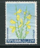LIBAN- P.A Y&T N°302- Oblitéré (fleurs) - Végétaux