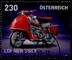 Austria 2019 Motorräder (XI) GESTEMPELT/USED/O - 1945-.... 2. Republik