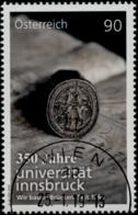 Austria 2019 350 Jahre Universität Innsbruck GESTEMPELT/USED/O - 1945-.... 2. Republik