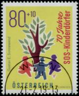 Austria 2019 70 Jahre SOS Kinderdörfer GESTEMPELT/USED/O - 1945-.... 2. Republik