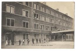 25 BESANCON HOPITAL SAINT-JEAN 1914 - 1918 CPA 2 SCANS - Besancon