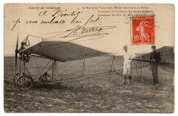 Aviation--1912--Le Monoplan Train Pour L'école Saharienne De BISKRA- ( Animée )-Lt De Lafargue Et Lt DooHu Vi - ....-1914: Précurseurs