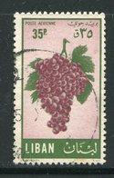 LIBAN- P.A Y&T N°123- Oblitéré (raisins) - Fruits