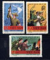 VNN - 616/619** - SOLIDARITE AVEC LES MAQUIS - Viêt-Nam