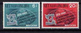 VNS - 363/364** - 50è ANNIVERSAIRE DE L'O.I.T. - Viêt-Nam