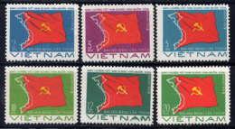 VNRS - 24/29(*) - CARTE ET DRAPEAU - Viêt-Nam