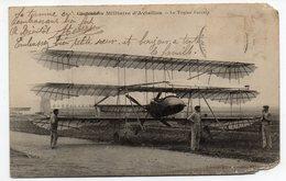 Aviation---Le Triplan PAULHAN ( Animée ) - ....-1914: Précurseurs