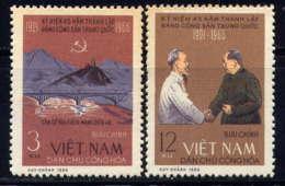 VNN - 504/505(*) - 45è ANNIVERSAIRE DU P.C. CHINOIS - Viêt-Nam