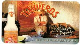 France. Taquieros. Cerveza Y Tequila. Bière. Beer. Birra. Bier. Cerveza. 180 X 100 Mm. - Sous-bocks
