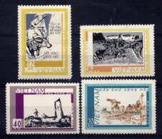 VNN - 619/622(*) - TABLEAUX DE GUERRE - Viêt-Nam