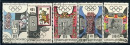 Y85 Czechoslovakia 1968 1781-1786 1965 Olympic Games - Mexico City, Mexico - Zomer 1968: Mexico-City