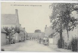 41 AUTAINVILLE . Le Village Ou Hameau De La Leu , édit :  , Années 10  , état Extra - Otros Municipios