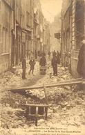 Besançon         25         Inondation De 1910. Les Ravins De La Rue Pouillet       (Pli Voir Scan) - Besancon