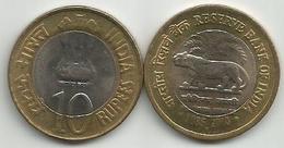 India 10 Rupiah 2010. Reserve Bank Of India - Inde