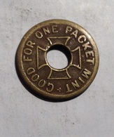 TOKEN GETTONE GOOD FOR ONE PACKET MINT - Monetary/Of Necessity