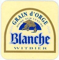 Belgium. Grain D'Orge. Bière Sur Levure. Blanche. Witbier. Belgique. België. - Sous-bocks