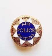 Pin's Police ASC Moyeuvre (moselle) - Polizia