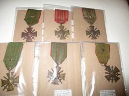 LOT DE 6 MEDAILLES N° 2 - Militaria