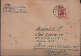 C3141-Germany-Allied Zone-Cover From Elbachto Rio De Janeiro, Brazil-1948 - Gemeinschaftsausgaben