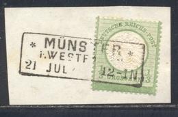 DR 17a Briefstück Ideal Gest. R3 MÜNSTER Geprüft Sommer BPP - Deutschland