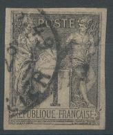 Lot N°46154  N°83 Non Dentelé, Oblit Cachet à Date De PARIS 49 (R. MARSOLLIER) - 1876-1898 Sage (Type II)