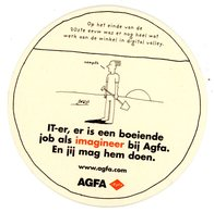 Belgium. Agfa. IT-er, Is Een Boeiende Job Als Imagineer Bij Agfa. Jij Mag Hem Doen. Werk Aan De Winkel In Digital Valley - Sous-bocks
