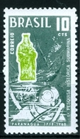 BRAZIL #1076   -  1st BRAZILIAN  UNDERWATER RESEARCH  -  MINT  - 1968 - Brazil