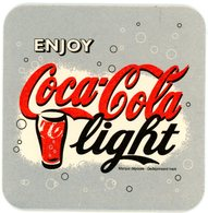 Belgium. USA. Enjoy Coca-Cola Light. Marque Déposée. Gedeponeerd Merk. België. Belgique. - Sous-bocks